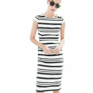 J.Crew Double Stripe Dress